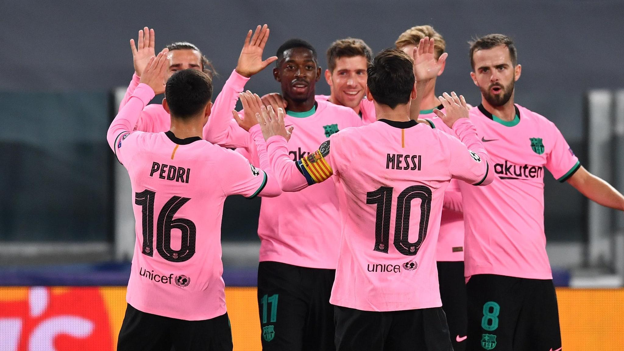 barcelona barcelona juve'yi yendi, rashford united'a ilham verdi