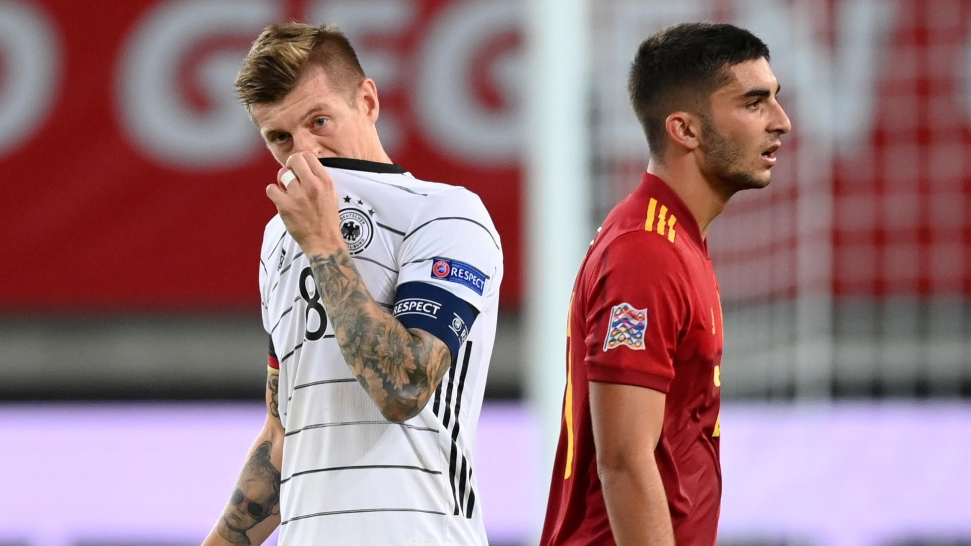 پیش نمایش اسپانیا در مقابل آلمان