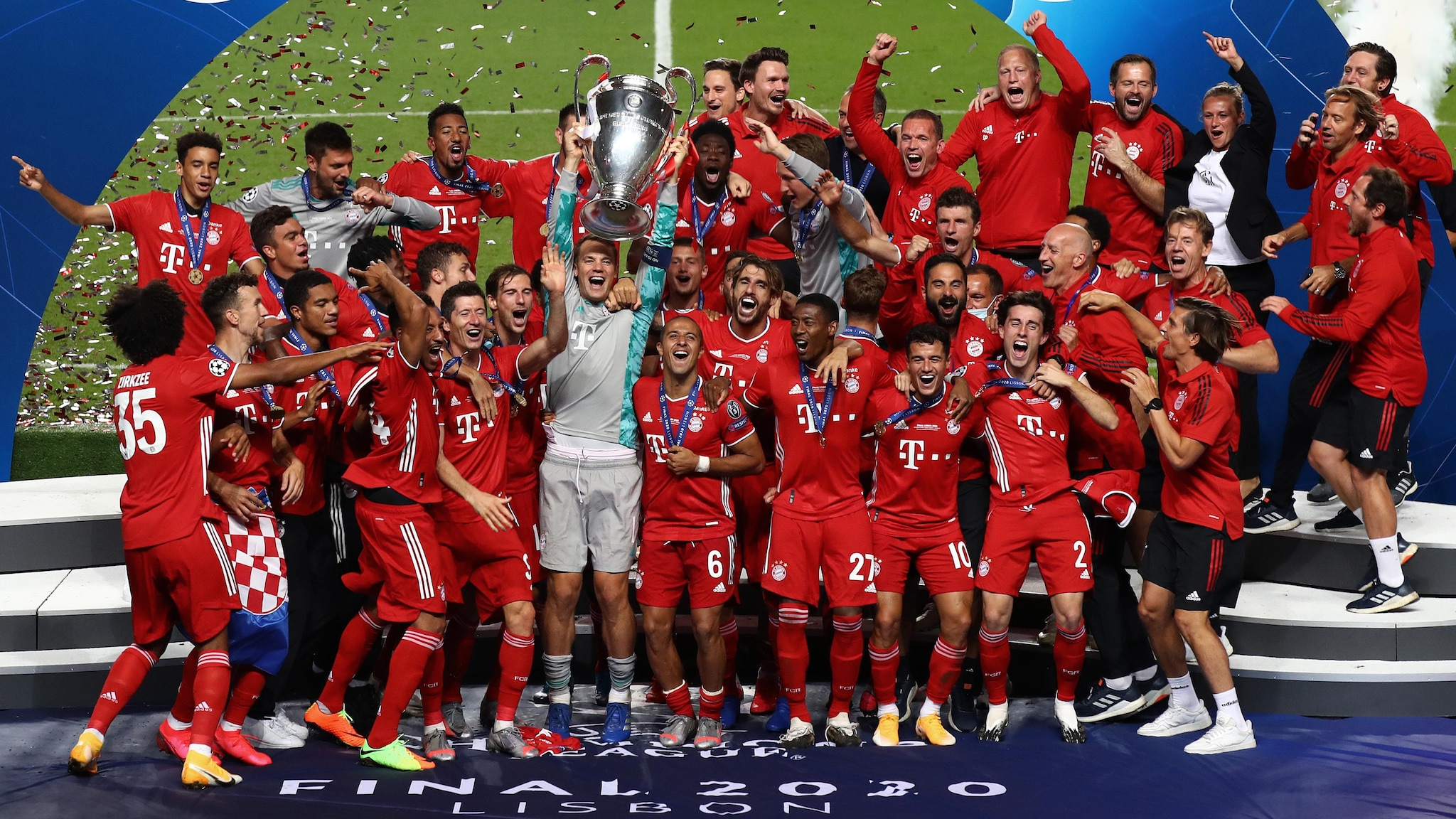 Who is at the top of the 2020 uefa rankings?