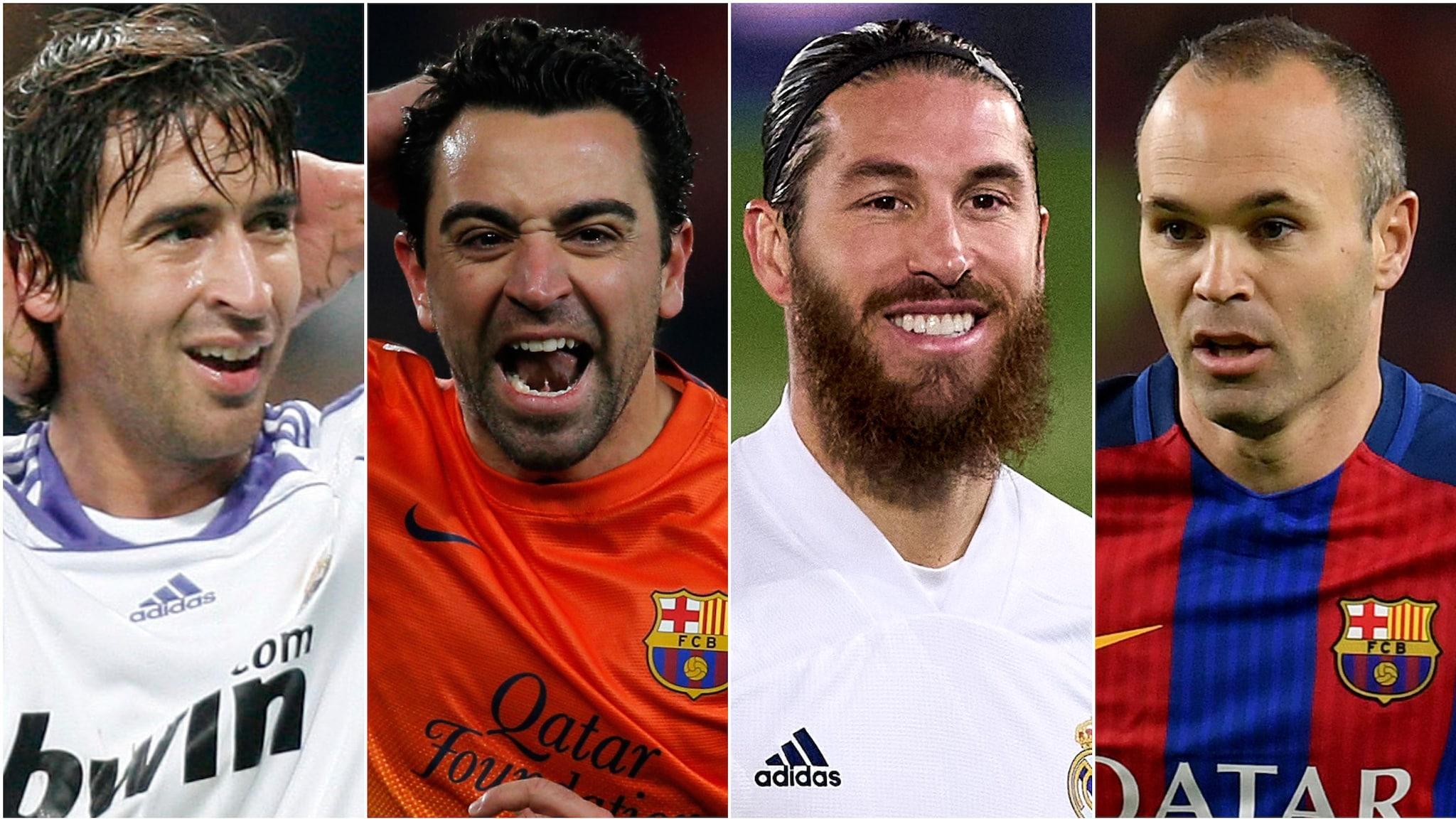 Spain' top performers