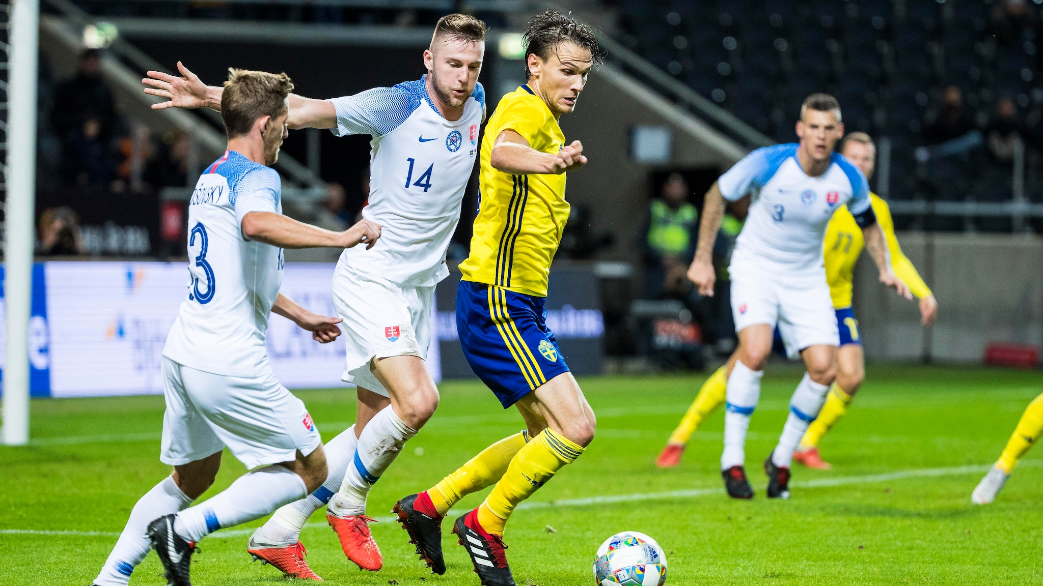 İsveç vs Slovakiya faktları